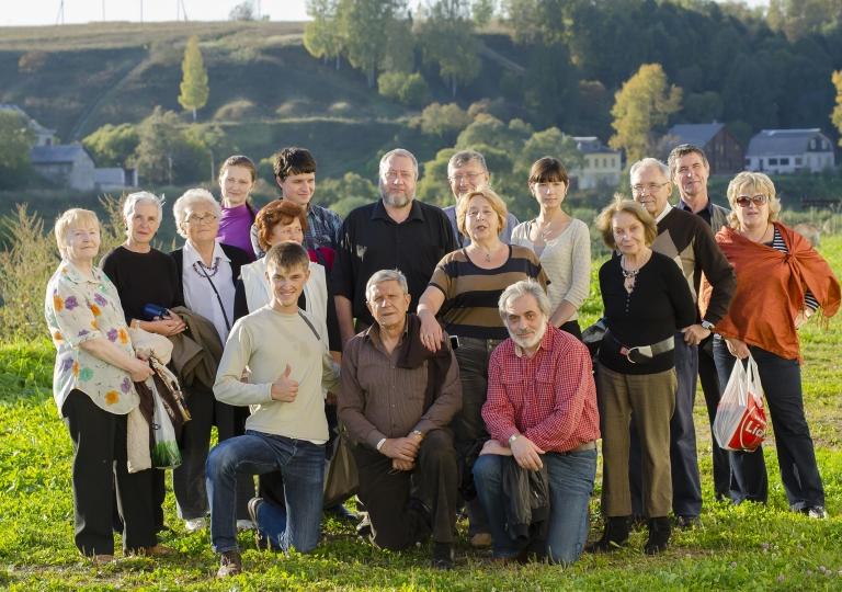 Участники XXVI Симпозиума в Твери (2012)
